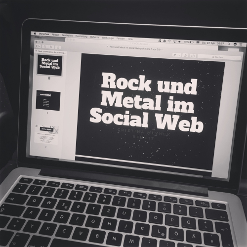 Onlinemarketing für Musiker: Session auf dem Future Music Camp 2017